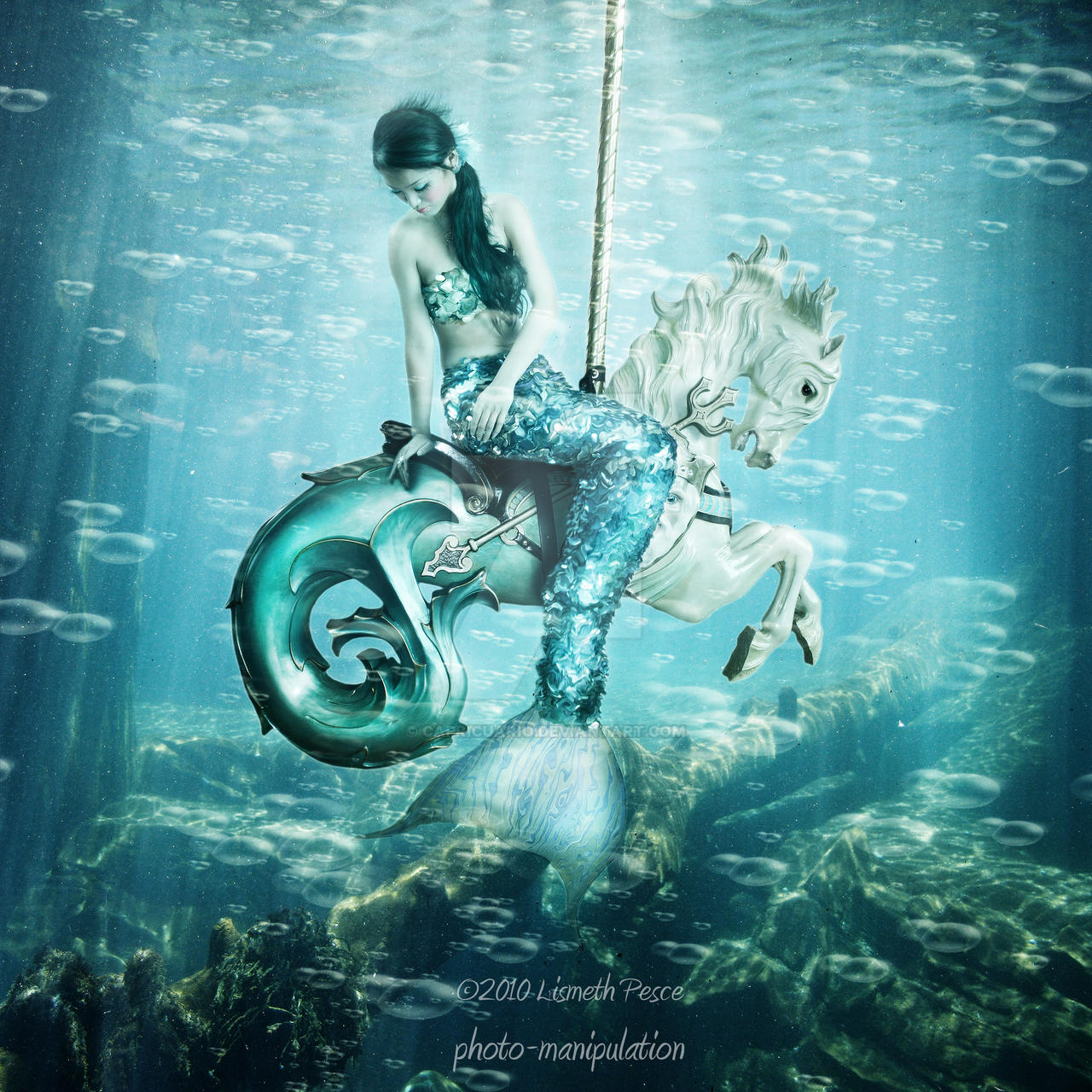 Sea Carousel by Capricuario
