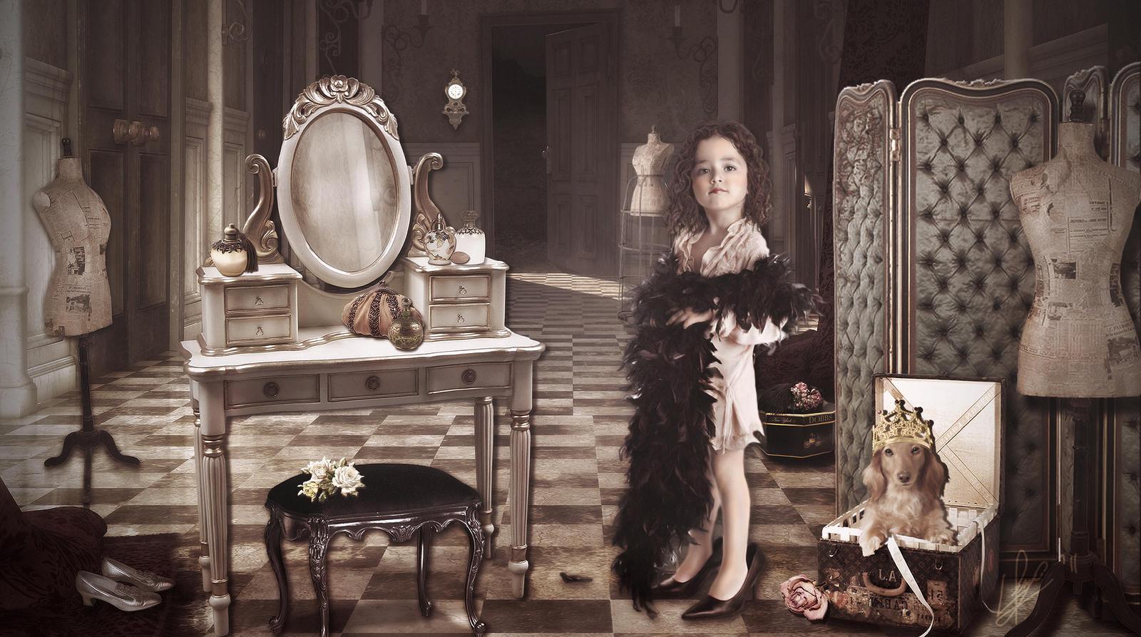 Alexia\'s Dressing Room by Capricuario on DeviantArt