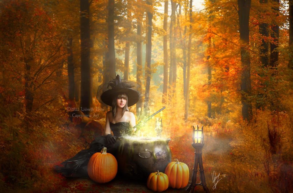 Autumn Potion by Capricuario