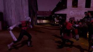 Team killer VS zombies