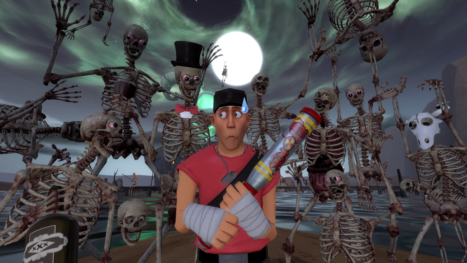 Spooky scary skeletons contest by samuraiknight 1600 on - Scary skeleton games ...