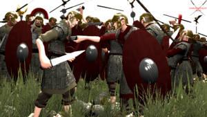Battle of Pharsalus. by Samuraiknight-1600