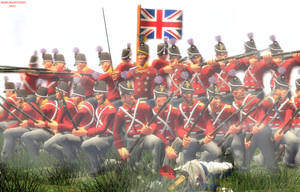 Napoleonic wars. Square formation. by Samuraiknight-1600