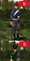 Napoleonic wars uniform challenge part 2. by Samuraiknight-1600