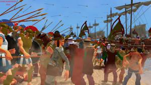 Battle of Marathon. by Samuraiknight-1600