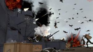WW2. The Yamato's death. by Samuraiknight-1600