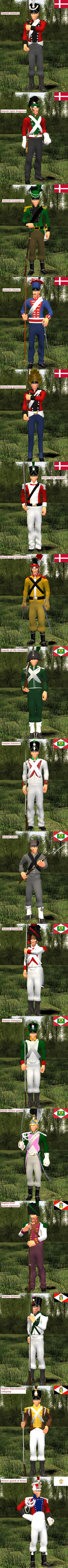 Napoleonic wars uniform challenge part 4. by Samuraiknight-1600