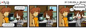 Comic #14: Coffee by LilBruno