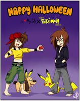 ILML x Sydney's Pokemon Adventure - Halloween 2015 by LilBruno