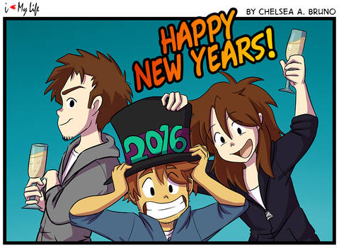 Happy New Year 2016 by LilBruno