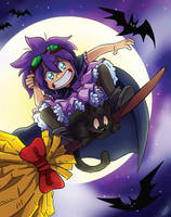 Alfie the Witch by LilBruno