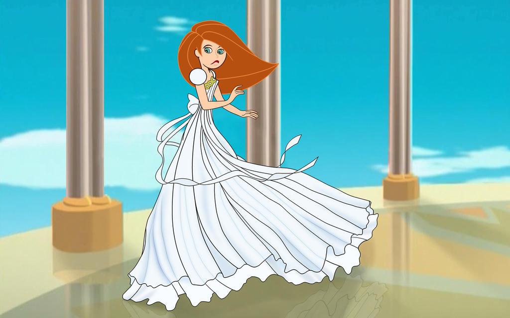 Kim as Princess Serenity by FitzOblong on DeviantArt