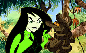 Shego meets Kaa 2 by FitzOblong
