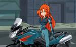 Motorcycle Bloom