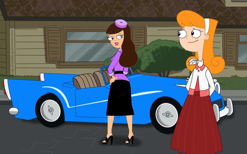 How To Draw Ferb Vanessa and Candace: S...