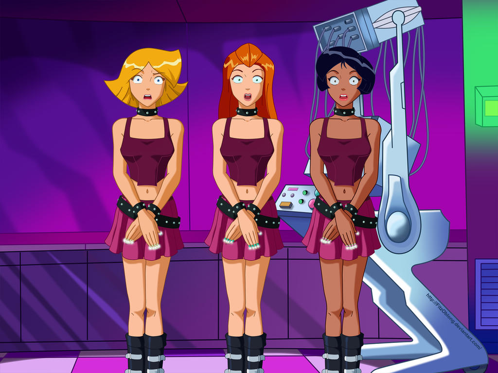 Totally spies флеш порно
