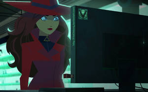 Carmen Sandiego Hypnotized by FitzOblong