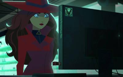 Carmen Sandiego Hypnotized