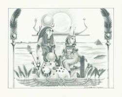 Zep Tepi- Gods of the Year by kaylin