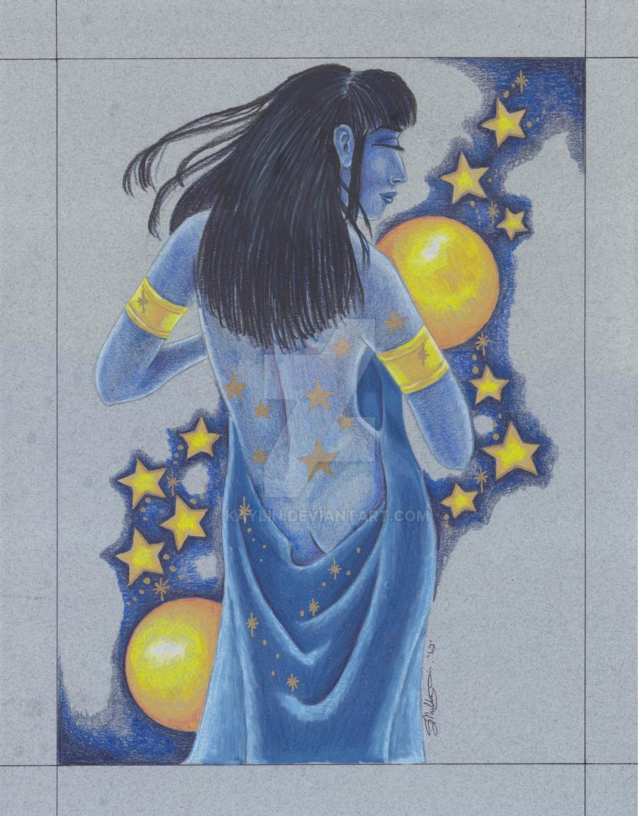 Nut- The Sky Goddess by kaylin