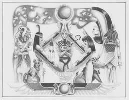 Kemetic Storytellers by kaylin