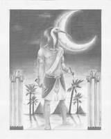 Djehuti- Lord of Wisdom by kaylin
