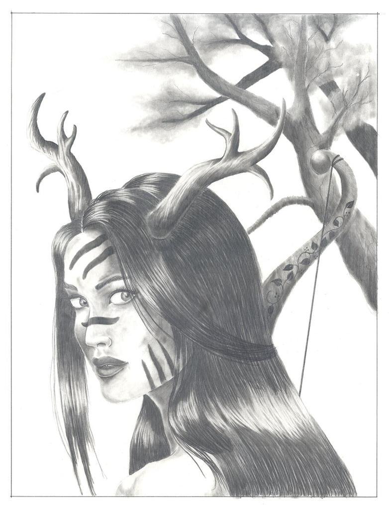 Artemis by kaylin