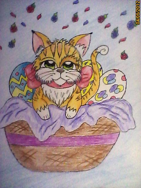 Chester the Cat - have an Egg-tastic Easter by ...