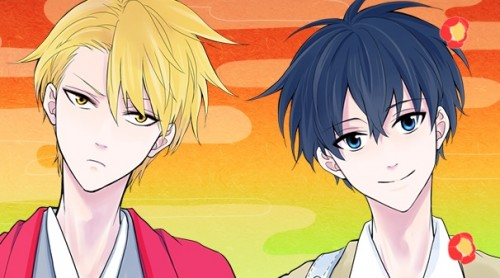 Abeno san + Ashiya: Wallpaper background [1] by Kurohimex105