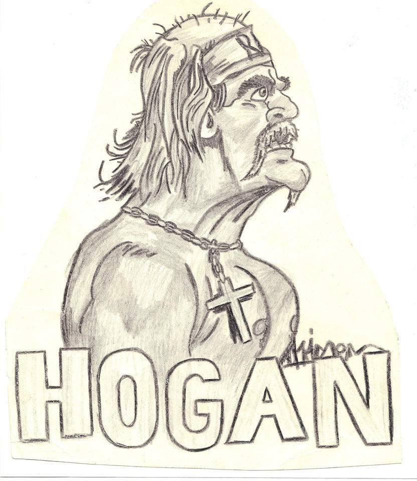 How To Draw Wwe Hulk Hogan