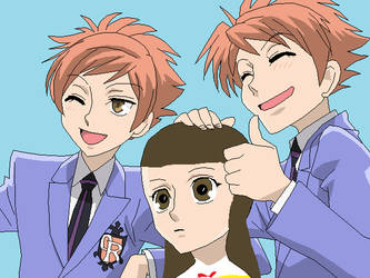 Hikaru Haruhi And Kaoru On Ouranhostclubcouples Deviantart They just found out what bronies are. hikaru haruhi and kaoru on