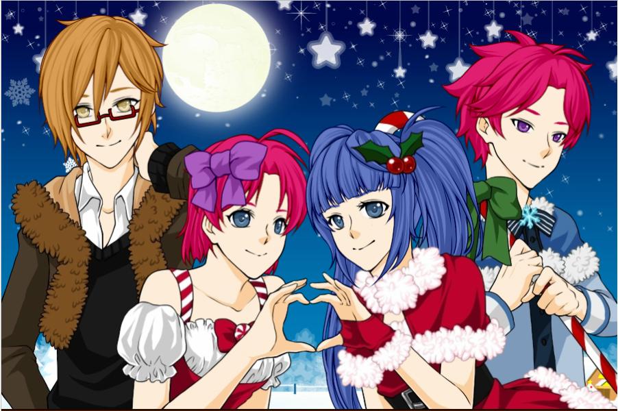 Tecna Musa Timmy Riven Christmas by Teaganm on DeviantArt