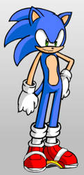 Sonic by Teaganm