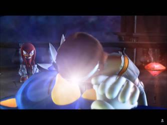 Elise save Sonic by Teaganm