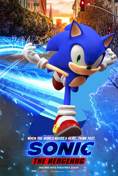 Sonic The Hedgehog Movie Fix Running By Teaganm On Deviantart