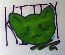Green Kitty by Ciaratheresa