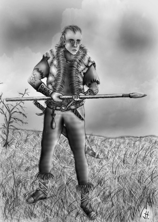 half-elf ranger by jh108