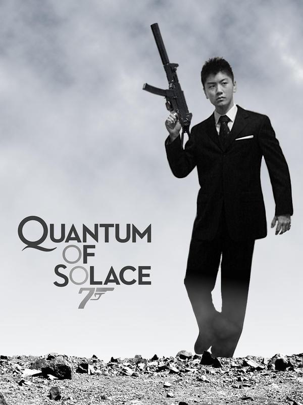 Quantum Of Solace Quantum of solace parody by