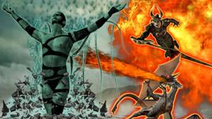 The-dragon-lord Vs The-fallen