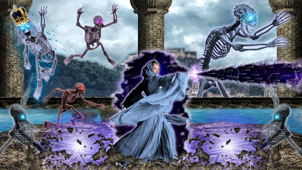 Mystic-queen Vs The-bone-army