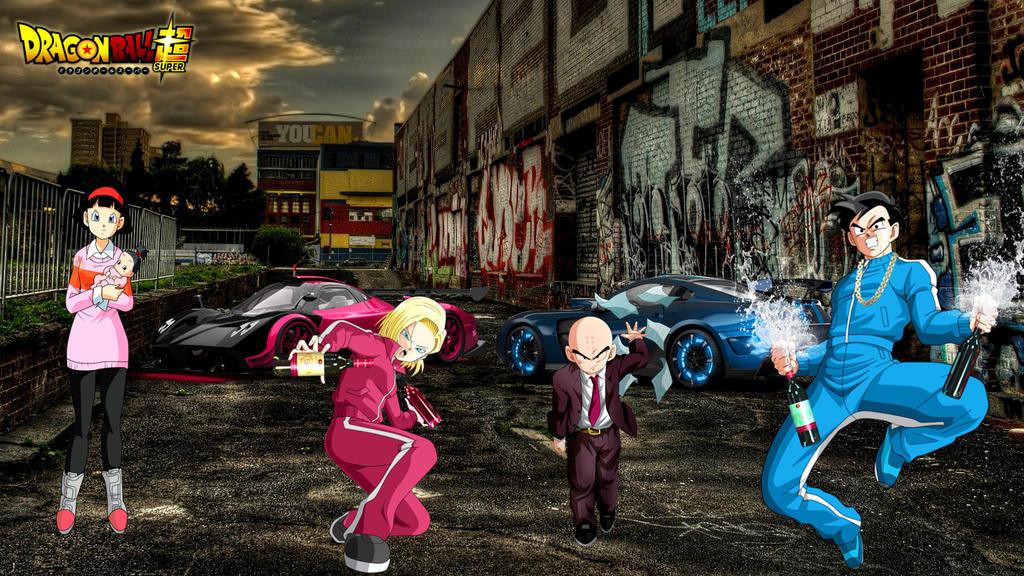 Dragon-ball-super Street-life