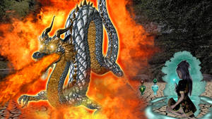Kishi-and-the-dragon