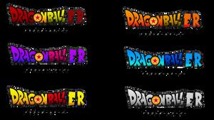 Dragon ball er logo Alternate colors