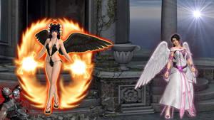 Angel-momiji-and-nyotengu
