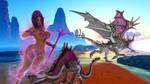 Shandranae dragon warrior