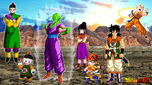 Chichi and the z fighters