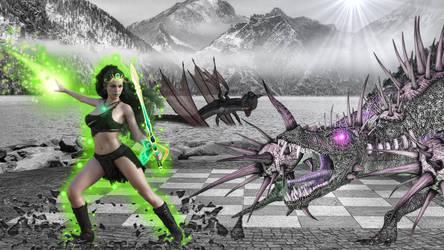 Emerald Warrior Queen