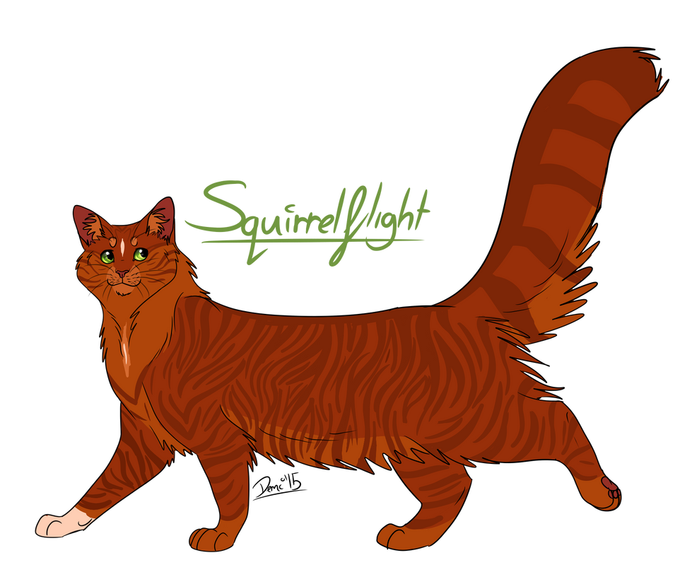 Warriors The New Prophecy Book 5: Warriors: Squirrelflight By DemiiDee On DeviantArt