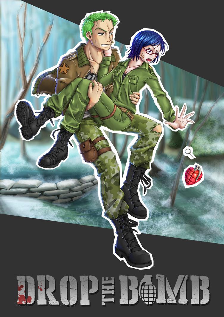 Drop the Bomb - Fanfiction Cover by LadyTashigi