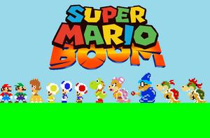 Super Mario Boom by Ruensor